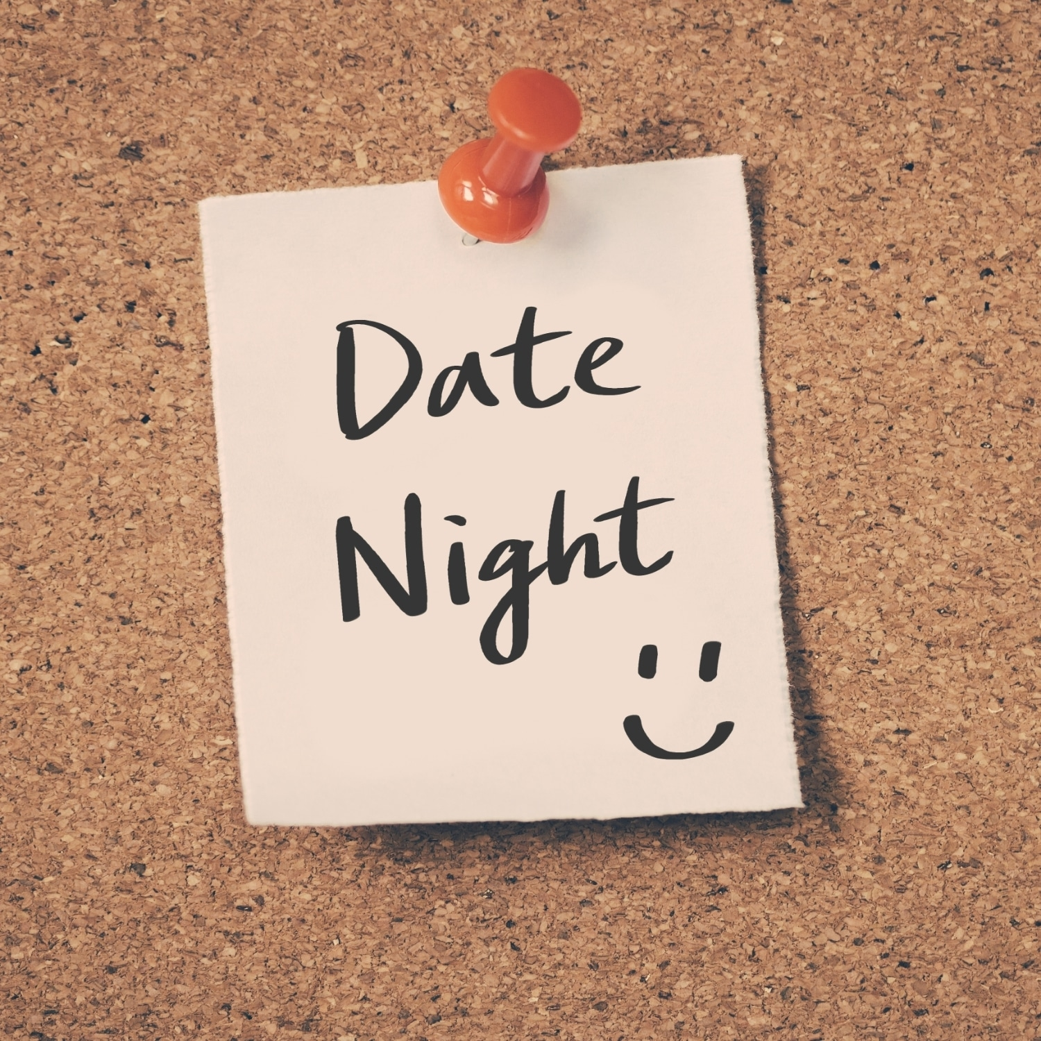 "Post-it that reads ""date night"""