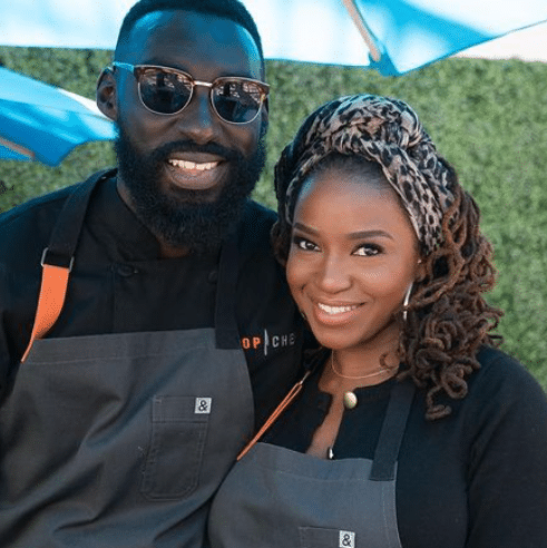 Eric and Janell Adjepong on Top Chef