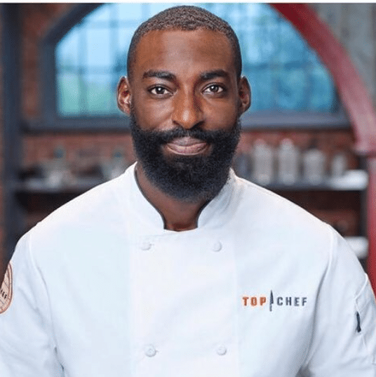 Eric Adjepong on top chef